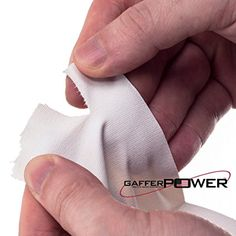 Real Professional Premium Grade Gaffer Tape by Gaffer Power - Made in The USA - White 2 Inch X 30 Yards - Heavy Duty Gaffer's Tape - Non-Reflective - Multipurpose - Better Than Duct Tape Gaffer Tape, Duct Tape, February 12, Skyscraper, Period, Trust, Size 2, Industrial, Strong