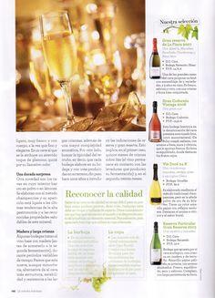La revista Lecturas Cocina recomienda Vin Doré 24K