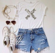outfit fashion girl tumblr summer - image #3022730 by allycandyy ...