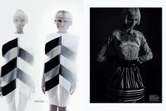graphic design: anka kapusnakova by dimitris skoulos for close up april 2013 | visual optimism; fashion editorials, shows, campaigns & more!