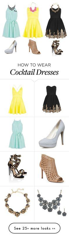 """Cocktail Dresses"" by addietay on Polyvore"