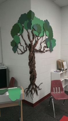 My 7 Habits Tree! Inspired by:  whimsylaneblog.blogspot.com/2012/04/paper-tree.html