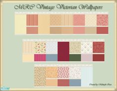 MidnightRose's MRC Vintage Victorian Wallpapers