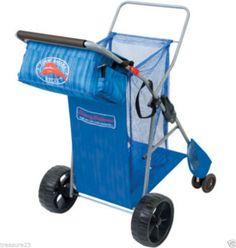 Tommy Bahama Deluxe Wonder Wheeler Light Blue Beach Cart #blue #beach #cart…