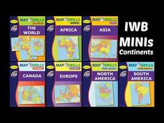Learning coordinates with map skills the world iwb software map skills interactive whiteboard mini continent lessons explore the worlds continents through interactive maps and hands gumiabroncs Gallery