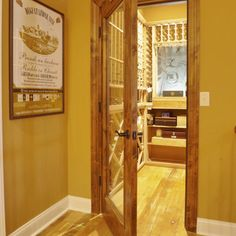 Stained Floor And Doors/trim And White Baseboards | Beautiful Designs For  The Home | Pinterest | White Baseboards, Door Trims And Baseboard Nice Design
