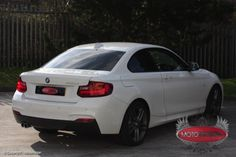 BMW 2 Series was tinted with our 2 ply film, to the rear windows. Bmw 2