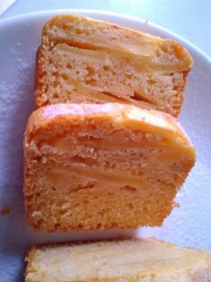Cake aux pommes light, sans matières grasses, sans sucre ~ So Light, So good !