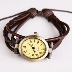 New Style Women Wristwatch Quartz Watch Hand Strap Cow Long Leather Vintage Female Roma Women Dress Watch Oval Brown Reloj Mujie-in Women's Watches from Watches on Aliexpress.com | Alibaba Group