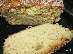 Foto del paso 5 de la receta Pan de harina de garbanzos Pan Bread, Bread Baking, Baking Recipes, Vegan Recipes, Pan Dulce, Sin Gluten, Deli, Banana Bread, Bakery