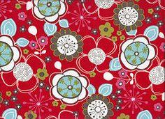 Red Sakura Cotton