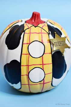Toy Story Halloween, Fete Halloween, Disney Halloween, Halloween Pumpkins, Halloween Crafts, Halloween Ideas, Pumpkin Decorating Contest, Pumpkin Contest, Decorating Pumpkins
