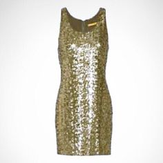 COMING SOON Gold Sequined Alice & Olivia Dress Coming soon! Details and additional pics to follow! Like Now to be notified upon arrival!  Alice + Olivia Dresses