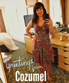 The Jenny dress by Karina Dresses was the perfect look for my day in Cozumel!! #Dresstacular #AD #travel