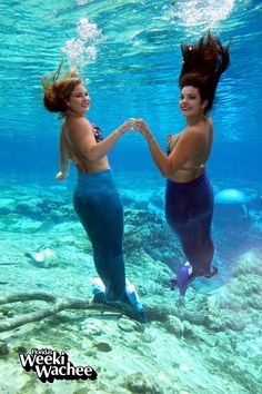 #Mermaids Kristy & Andrea wish you a happy Friday!! In regard to the mermaid performances, our goal is to have them swimming again by Labor Day weekend. Thank you for your patience, and we hope you have a wonderful weekend! #TGIF