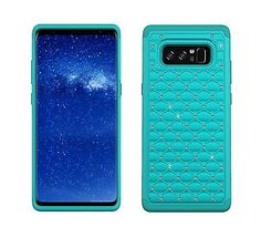 1 x Phone Case only (no Phone included). Exact size and fit for your phone perfertly. Samsung Galaxy Note 8, Cell Phone Cases, Bling, Notes, Turquoise, Ebay, Accessories, Jewel, Report Cards