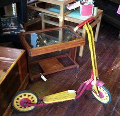 Simon  Vintage scooter 1911 9th Street NW