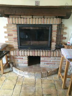 The traditional kitchen wood burning oven and fireplace. Although there is also a gas stove and oven.