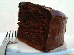 Nigella's Chocolate Fudge Cake - Life is Great