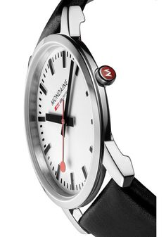 MADE IN SWITZERLAND One of the biggest trends in the watch industry right now is more traditional, classical designs, inevitably simpler, slightly smaller and thinner. Mondaine is introducing a new Ul