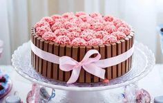 Cake Hacks, Celebration Cakes, Party Cakes, No Bake Cake, Vanilla Cake, Baked Goods, Chocolate Cake, Cake Recipes, Cake Decorating