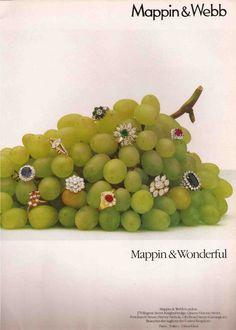 Jewelry Advertisement - Mappin & Webb 1980