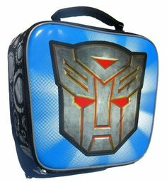 "Transformers Bowling Bag School Lunch Box Tote by Hasbro. $4.74. dimensions: 8"" x 6"" x 3"".. Add Character to Lunchtime. The Transformers lunch bags are insulated, easy to clean, food safe double-stitched seams and durable materials. Features padded handles for extra comfort. Do not microwave. Appropriate for Children Ages 3+."
