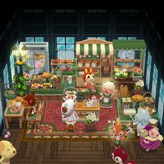 Your place for the latest campground news in Animal Crossing: Pocket Camp! Animal Crossing Cafe, Animal Crossing Wild World, Animal Crossing Qr Codes Clothes, Animal Crossing Pocket Camp, Floral Room, Happy Home Designer, Diy Chicken Coop, Bakery Design, Fun Hobbies