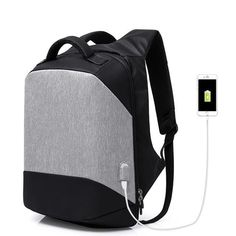 Multifunction Laptop Backpack with USB Charging
