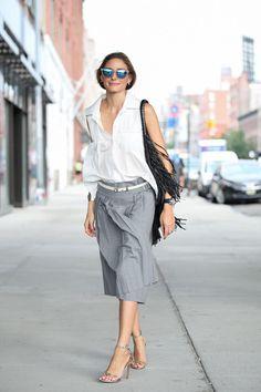 Olivia Palermo #NYFW #motilofw chic.