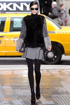 DKNY  F/W 2012. See more Classic Style in hawthorngirl's shop: http://hawthorngirl.com/shop-classic-style/