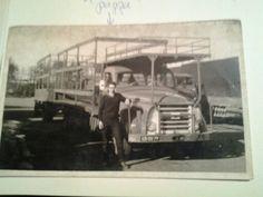 Pappa's daf bij Noort, ong. 1959.
