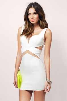 Mesh Sesh Bodycon Dress at Tobi.com #shoptobi