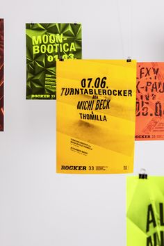 ROCKER33 club on Behance