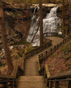 Brandywine Creek Waterfall, Ohio