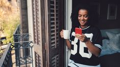 "Black #Cosmopolitan Here are guys to give a second look online   #DIS, #Shutterstock, #STOCKPHOTOGRAPHY, #VISUALARTS           Gettyimages.com/Young woman drinking coffee and texting at home  If you're in the online dating game, it can feel like there are limitless men out there. If you swipe left, another one will pop up. If you reject the matches a site sends you, they'll just round up another batch tomorrow. A...   Read more on BlackCosmopolitan AKA ""BlkCosmo"" (L"