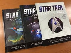 A Certain Point of View: Writing, Film and Stuff: Book Review: 'The Star Trek Encyclopedia: A Refere...