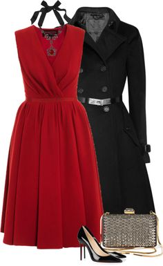 """""""Holiday Party (I)"""" by partywithgatsby ❤ liked on Polyvore"""