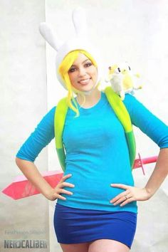 """Fiona & Cake from """"Adventure Time"""""""