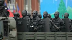 Taiwanese special forces wearing bulletproof masks!