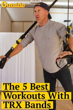 The 5 Best Exercises with TRX Bands The simple system is all you need for an effective full-body workout Trx Ab Workout, Trx Full Body Workout, Workout Routine For Men, Workout For Beginners, Workout Men, Workout Plans, Killer Workouts, Easy Workouts, Trx Band