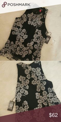 NWT* Vince Camuto Flowy Top* NWT*Vince Camuto Flowy Top * Stunning & Beautiful in all details* Dress it up or wear it casual* Feel free to Inquire and ask Questions * Reasonable offers accepted * Depending on the items...I can offer more than my stated bundle discount * Vince Camuto Tops
