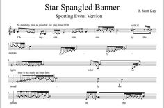 Star Spangled Banner: Sporting event version