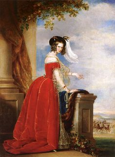 """Alexandra Feodorovna (Charlotte of Prussia)"", 1840s, by Christina Robertson (Scottish, 1796-1854)"