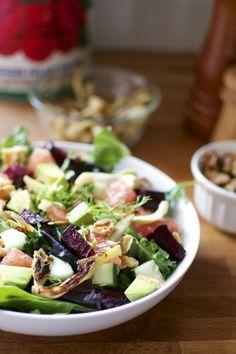 Beet, Fennel, Grapefruit, and Avocado Salad | Big Eats Tiny Kitchen