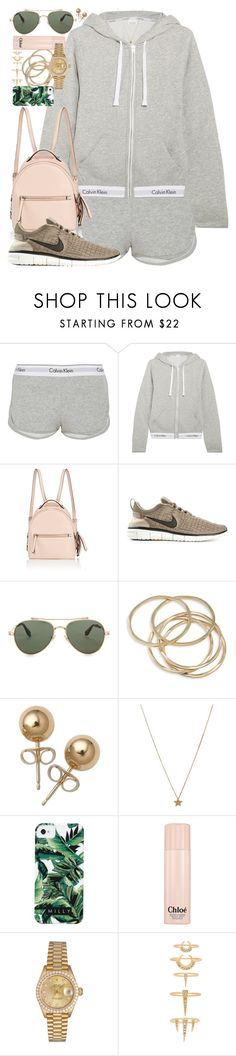 """However rare true love may be, it is less so than true friendship."" by quiche ❤ liked on Polyvore featuring Calvin Klein Underwear, Fendi, NIKE, Givenchy, ABS by Allen Schwartz, Bling Jewelry, Gogo Philip, Milly, Chloé and Rolex"
