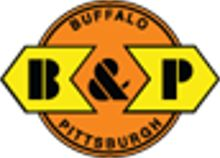 Buffalo  Pittsburgh R.R..  Class II R.R. acquired by Genesee & Wyoming in 1988.   .  A class II railroad.