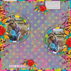 GingerScraps :: Kits :: Ticket to Paradise