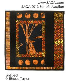 Art quilt by Rhoda Taylor Fabric Art, Fundraising, Benefit, Auction, Quilts, Gallery, Quilt Sets, Quilt, Log Cabin Quilts