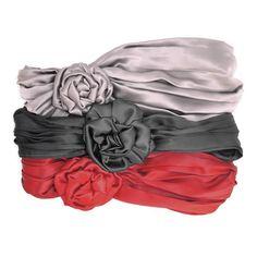 Susan Daniels Soft Silk Pleated Headwrap | Gossip Girl | SOPHIE'S CLOSET®